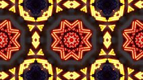 Modèle coloré d'ordre de kaléidoscope Fond abstrait de graphiques illustration stock