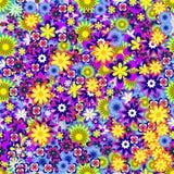Modèle coloré de flwers Photo stock