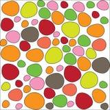 Modèle coloré de pierres Image libre de droits