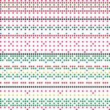 Modèle coloré de texture de Dots Retro Style Vector Background de dominos illustration de vecteur