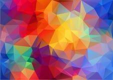 Modèle coloré géométrique illustration libre de droits