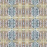Modèle coloré grunge sans couture mou Collage avec les lignes en pastel fabriquées à la main Fond de batik, contexte Style de Boh illustration libre de droits