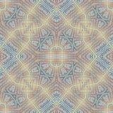 Modèle coloré grunge sans couture mou Collage avec les lignes en pastel fabriquées à la main Fond de batik, contexte Style de Boh Photos libres de droits