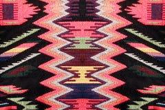Modèle coloré multi de tissu Photos libres de droits