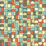 Modèle coloré polygonal de la géométrie Image stock