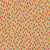 Modèle coloré sans couture de harlequin Image stock