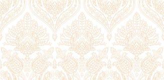 Modèle coloré sans couture de vecteur dans le style turc Fond décoratif de cru Ornement tiré par la main L'Islam, arabe Photos stock