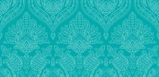 Modèle coloré sans couture de vecteur dans le style turc Fond décoratif de cru Ornement tiré par la main L'Islam, arabe Images stock