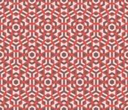 Modèle coloré sans couture moderne de la géométrie de vecteur Images libres de droits
