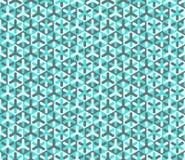 Modèle coloré sans couture moderne de la géométrie de vecteur Photo libre de droits