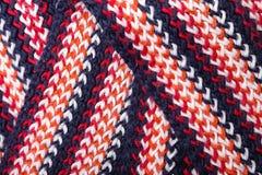 Modèle coloré tricoté Images stock