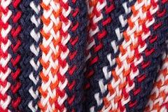Modèle coloré tricoté Photographie stock