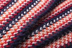 Modèle coloré tricoté Photos libres de droits