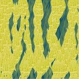 Modèle conceptuel de feuilles sans couture modernes de vecteur Image stock