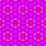 Modèle continu lumineux de rose et violet images stock