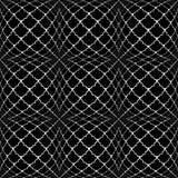 Modèle convexe monochrome sans couture de conception Image libre de droits
