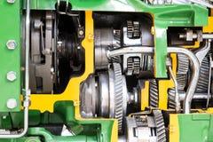 Modèle coupé d'un moteur photo libre de droits