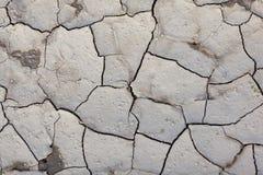 Modèle créé d'une terre criquée de photo Temps sec, sécheresse Photos libres de droits