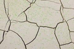Modèle créé d'une terre criquée de photo Temps sec, sécheresse Photographie stock