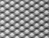 Modèle créatif noir du blanc 3D illustration libre de droits