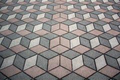 Modèle cubique Photographie stock