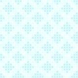 Modèle cyan de diamant Vecteur sans joint Images stock