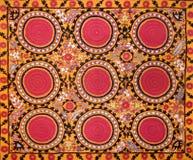Modèle décoratif arabe oriental de broderie photographie stock libre de droits