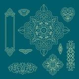 Modèle décoratif chinois 2 Images stock