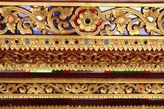 Modèle décoratif d'art thaïlandais image stock
