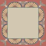 Modèle décoratif d'ornamental d'éléments de vue Photos libres de droits