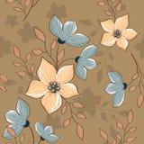 Modèle décoratif de bigorneau de vintage sans couture illustration stock