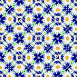 Modèle décoratif de fleur colorée sans couture de conception Photos stock