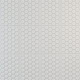 Modèle décoratif du cuir blanc Photographie stock