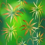 Modèle décoratif floral - papier peint intérieur Images stock