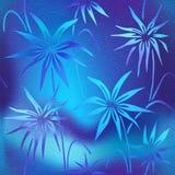 Modèle décoratif floral - papier peint intérieur Photographie stock