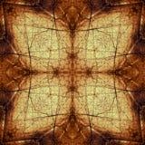 Modèle décoratif, lignes entrelacées, la combinaison des fragments des images Photo stock