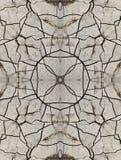 Modèle décoratif, lignes entrelacées, la combinaison des fragments des images Photos stock