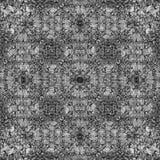 Modèle décoratif, lignes entrelacées, la combinaison des fragments des images Images stock
