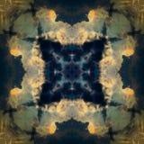 Modèle décoratif, lignes entrelacées, la combinaison des fragments des images Photo libre de droits