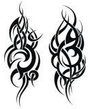 Modèle dénommé maori de tatouage pour une épaule illustration libre de droits