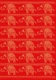 Modèle d'éléphants Photographie stock