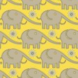 Modèle d'éléphants Images stock