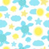 Modèle d'été du ` s d'enfants dans le style de patchwork Image stock