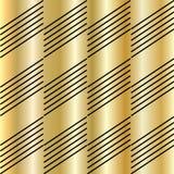 Modèle d'or Photos libres de droits