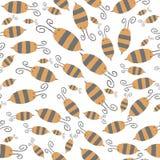 Modèle d'abeille Photographie stock