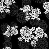 Modèle d'abrégé sur Rose Photo libre de droits