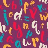 Modèle d'alphabet Photo stock