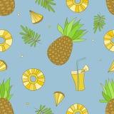 Modèle d'ananas illustration stock