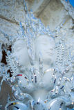 Modèle d'ange du temple blanc Image stock