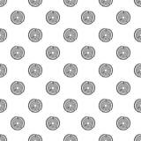 Modèle d'anneau d'arbre, style simple Image stock